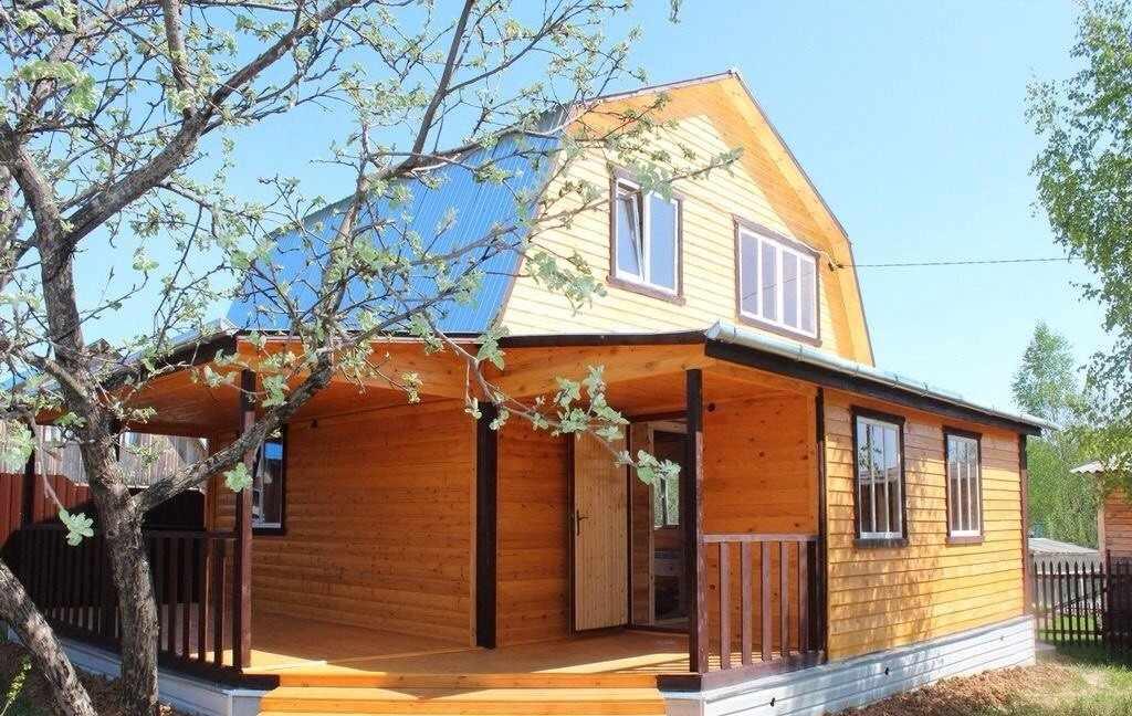 Дом 6 на 8 из дерева