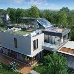 Плоская крыша с террасой
