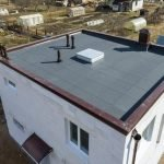 Постройка дома с плоской крышей