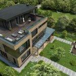 Крыша с террасой