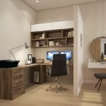 Рабочий кабинет и спальня