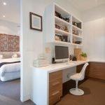 Кабинет совмещенный со спальней