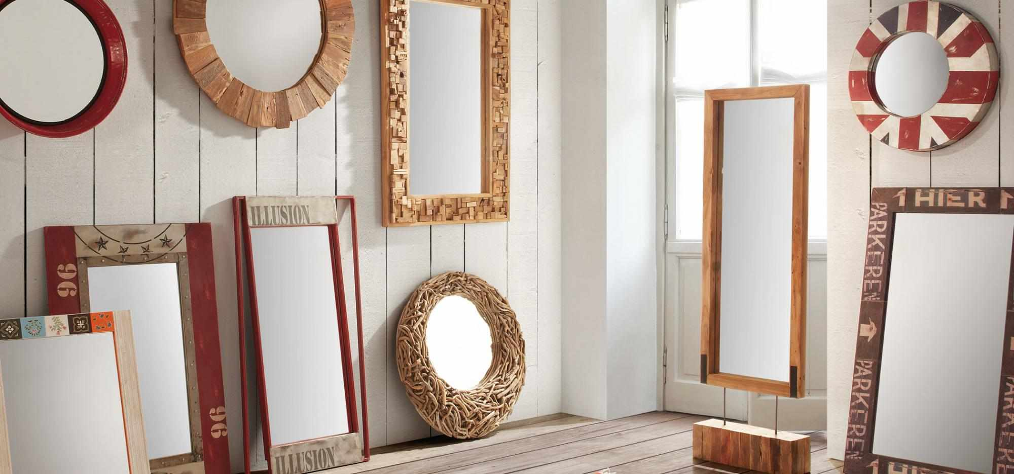 Разновидности рам для зеркал