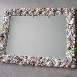 Рама для зеркала из ракушек