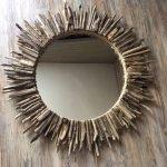 Круглая рама для зеркала