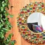 Цветная рама для зеркала