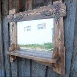 Деревянные рамы для зеркала: идеи оформления
