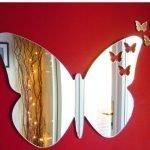 Зеркало-бабочка