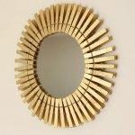 Способы оформления рамы для зеркала