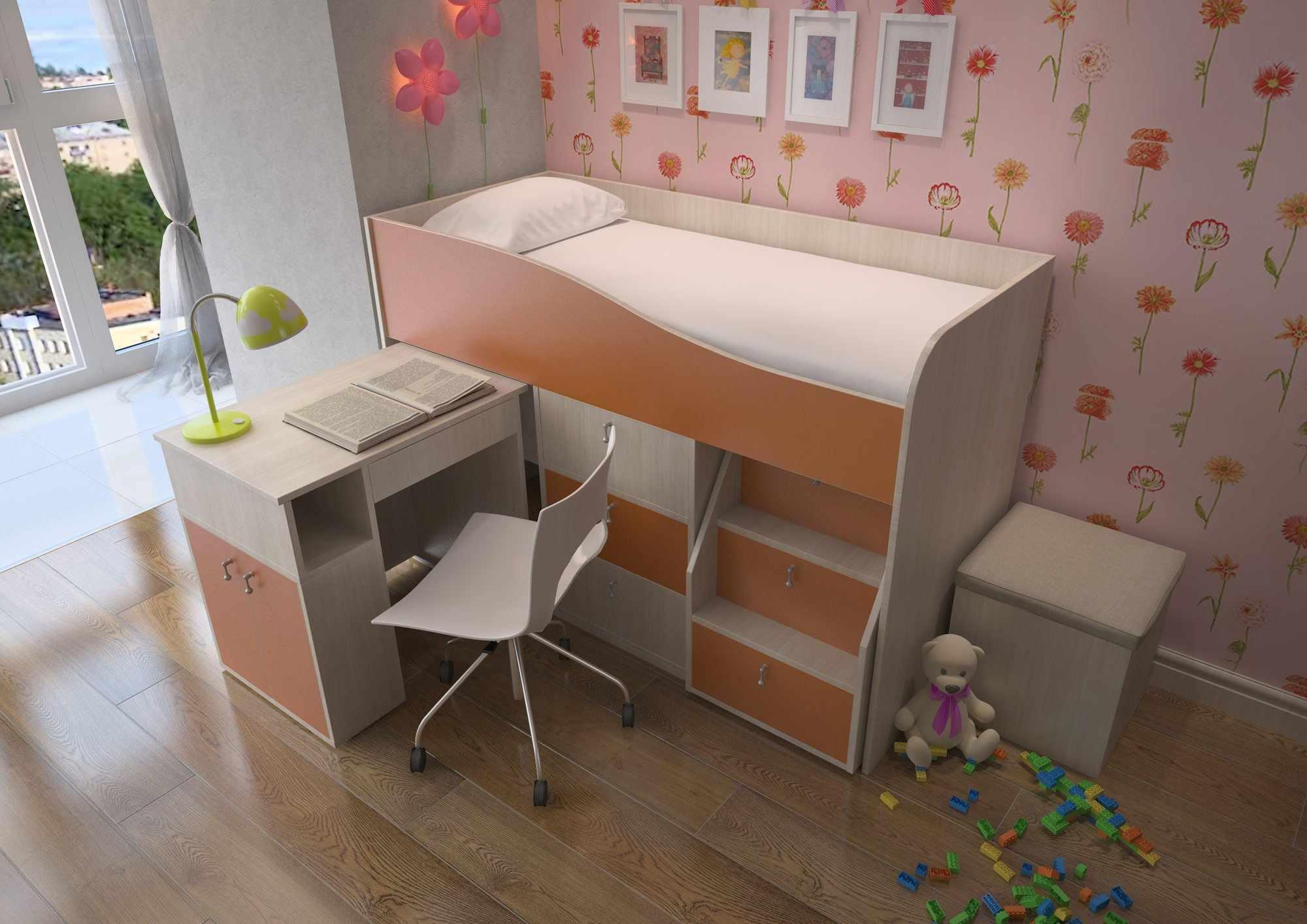 Кровать для школьника