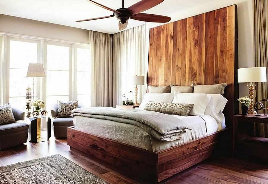 Стандартная двуспальная кровать