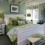 Кровать с двумя опорными стенками