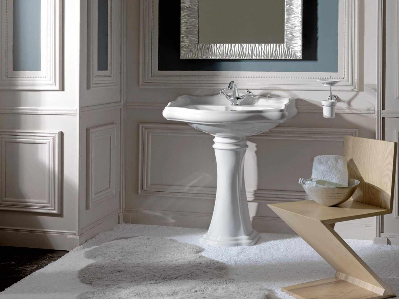 Раковина «тюльпан» для ванной