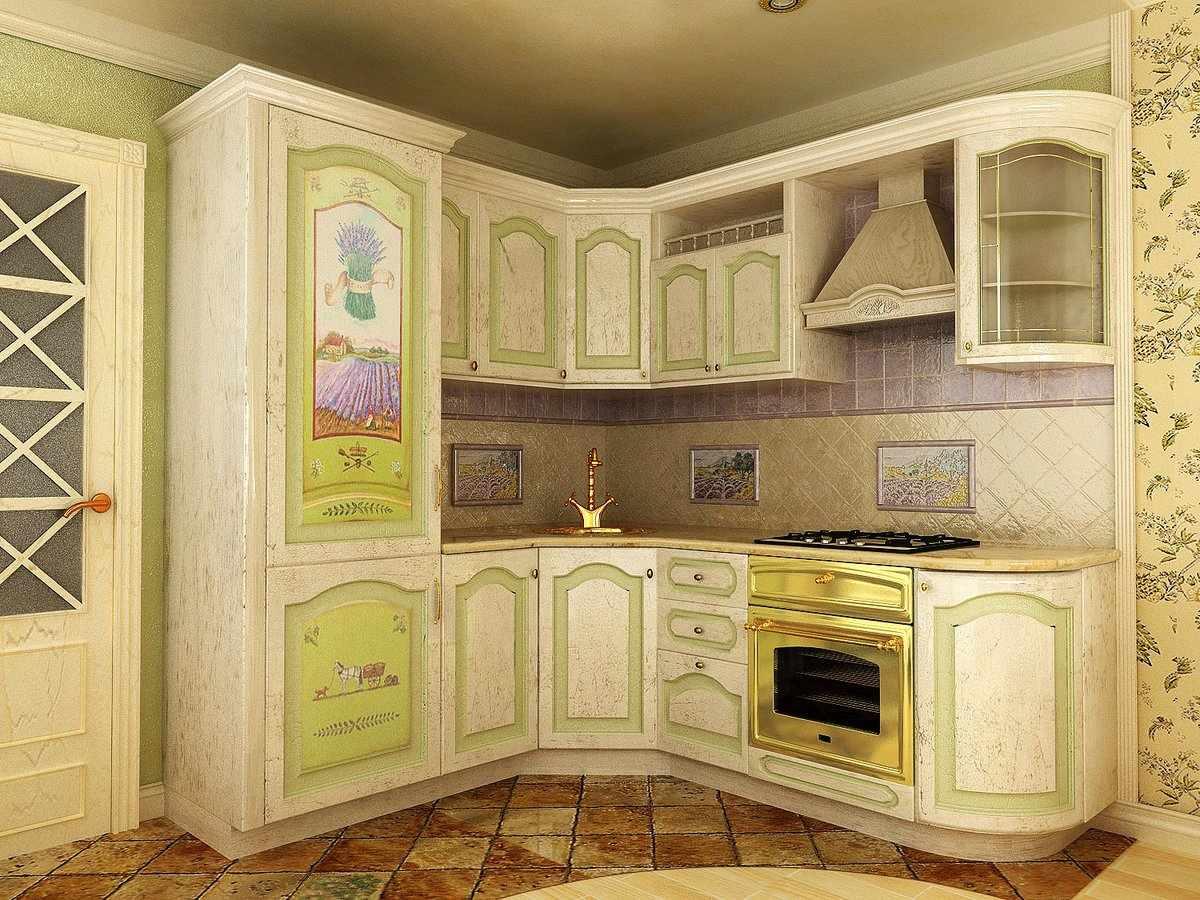 Декупаж кухонного фасада