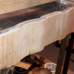 Приклеивание шпона на мебель