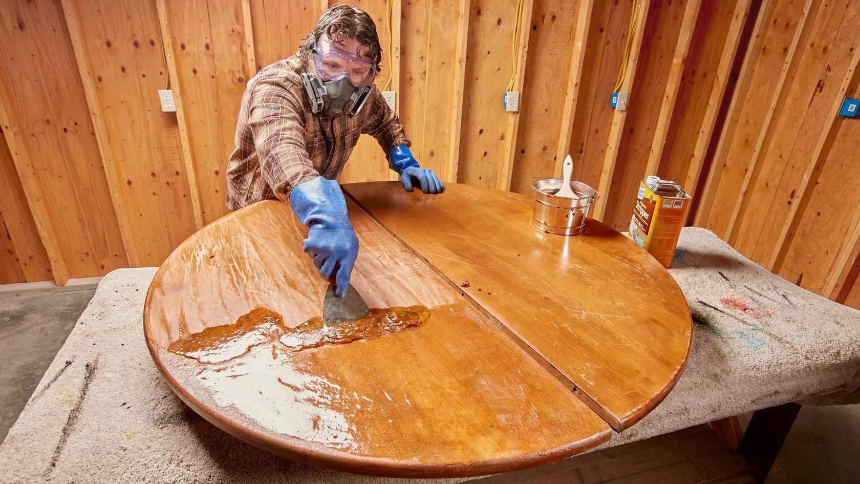 Сняте лакокрасочного покрытия