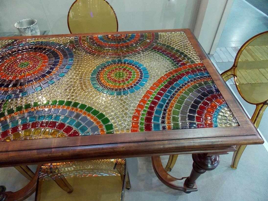 Мозаика на столешнице