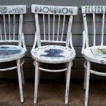 Рисунки на стульях