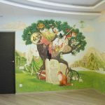 Сказочный дуб на стене