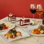 Тортик и вино