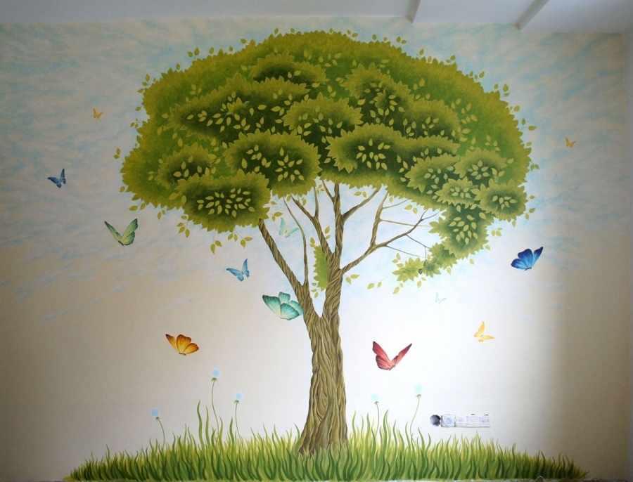 Роспись дерево