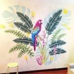 Разноцветный попугай
