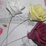 Розы на ножке