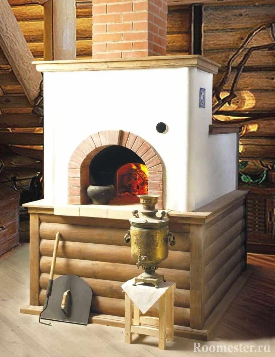 Печка из кирпича