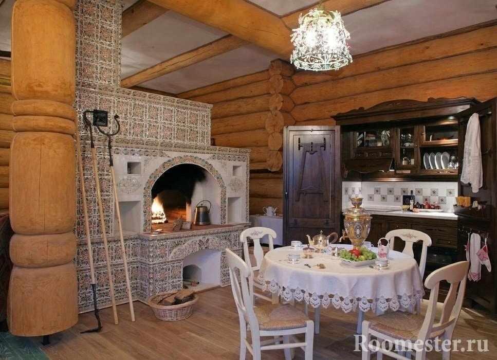 Печка в русском доме