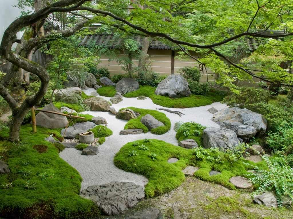 Сад камней по фэн-шуй