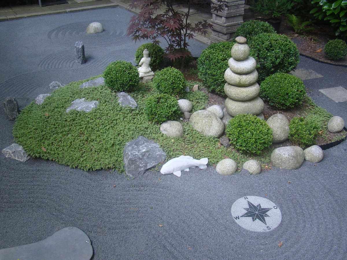 Элементы сада камней