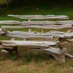 Деревянная скаймейка