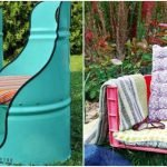 Кресла из бочки и ящика