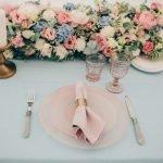 Сервировка свадебного стола идеи