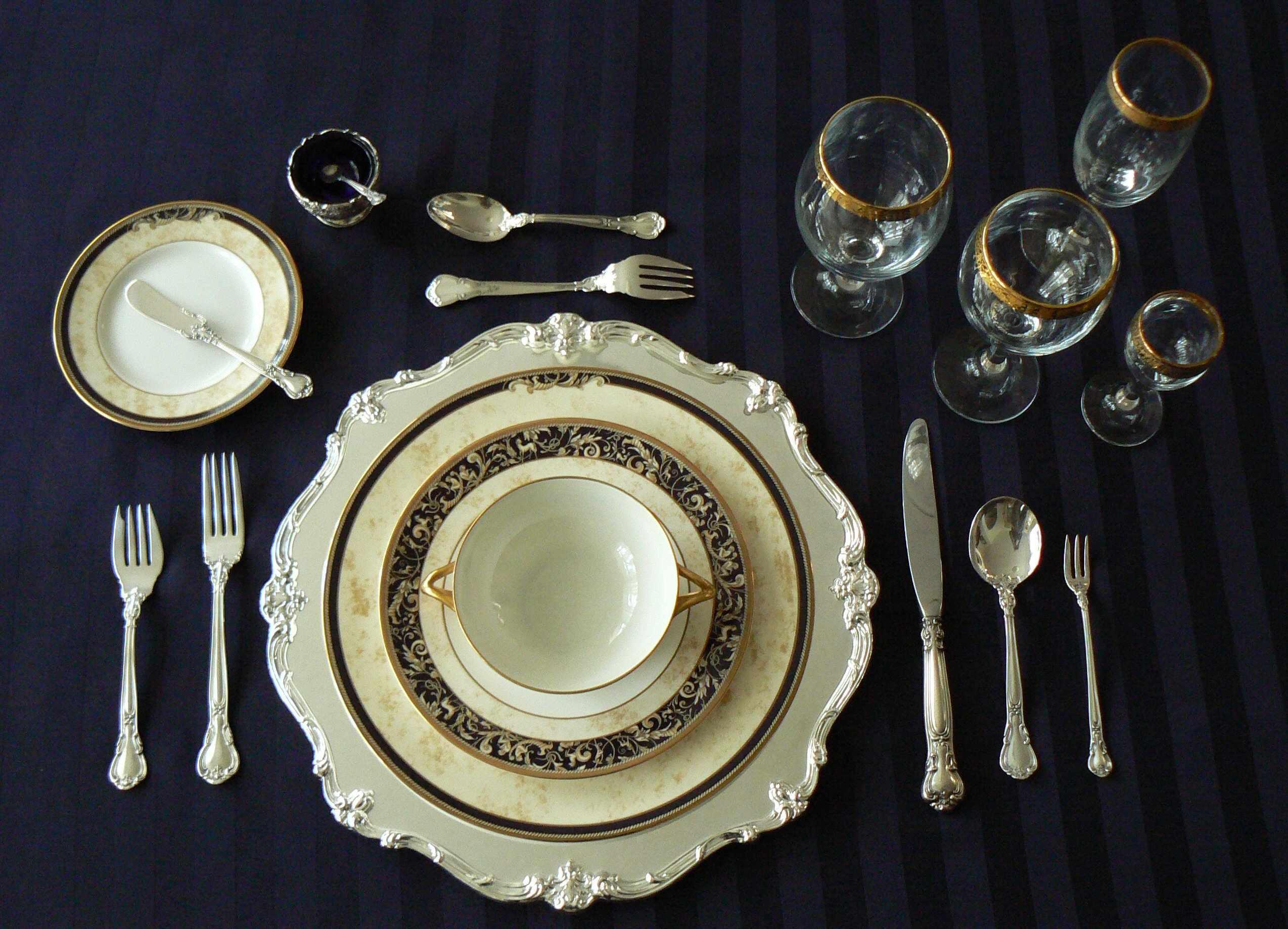 Красивые тарелки для сервировки