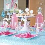 Тематическая сервировка стола для детского праздника