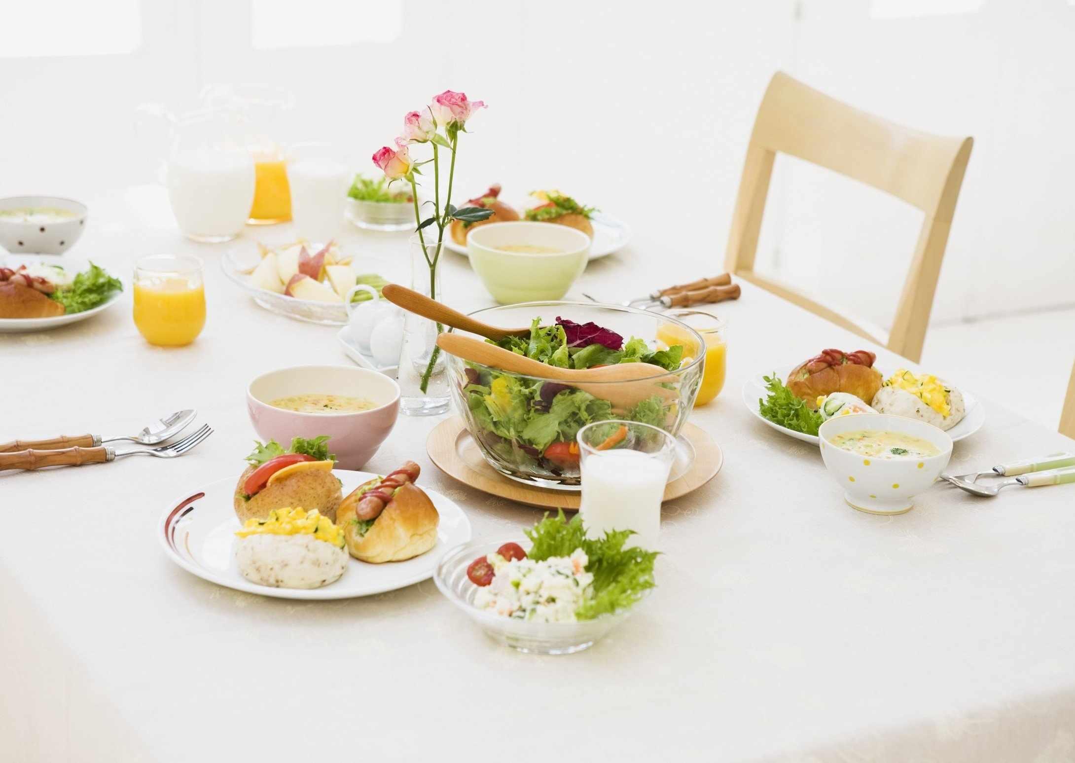 Сервировка завтрака