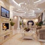 Дизайн роскошного интерьера
