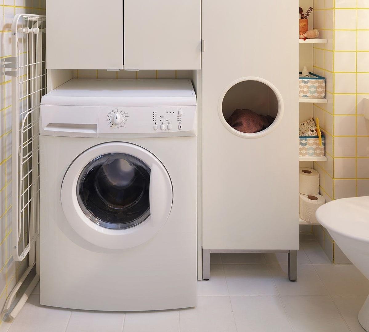 Шкаф над стиральной машиной