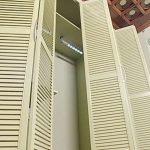 Двери-гармошкой для шкафа