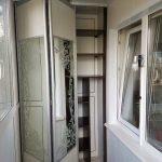 Зеркальные двери-гармошкой