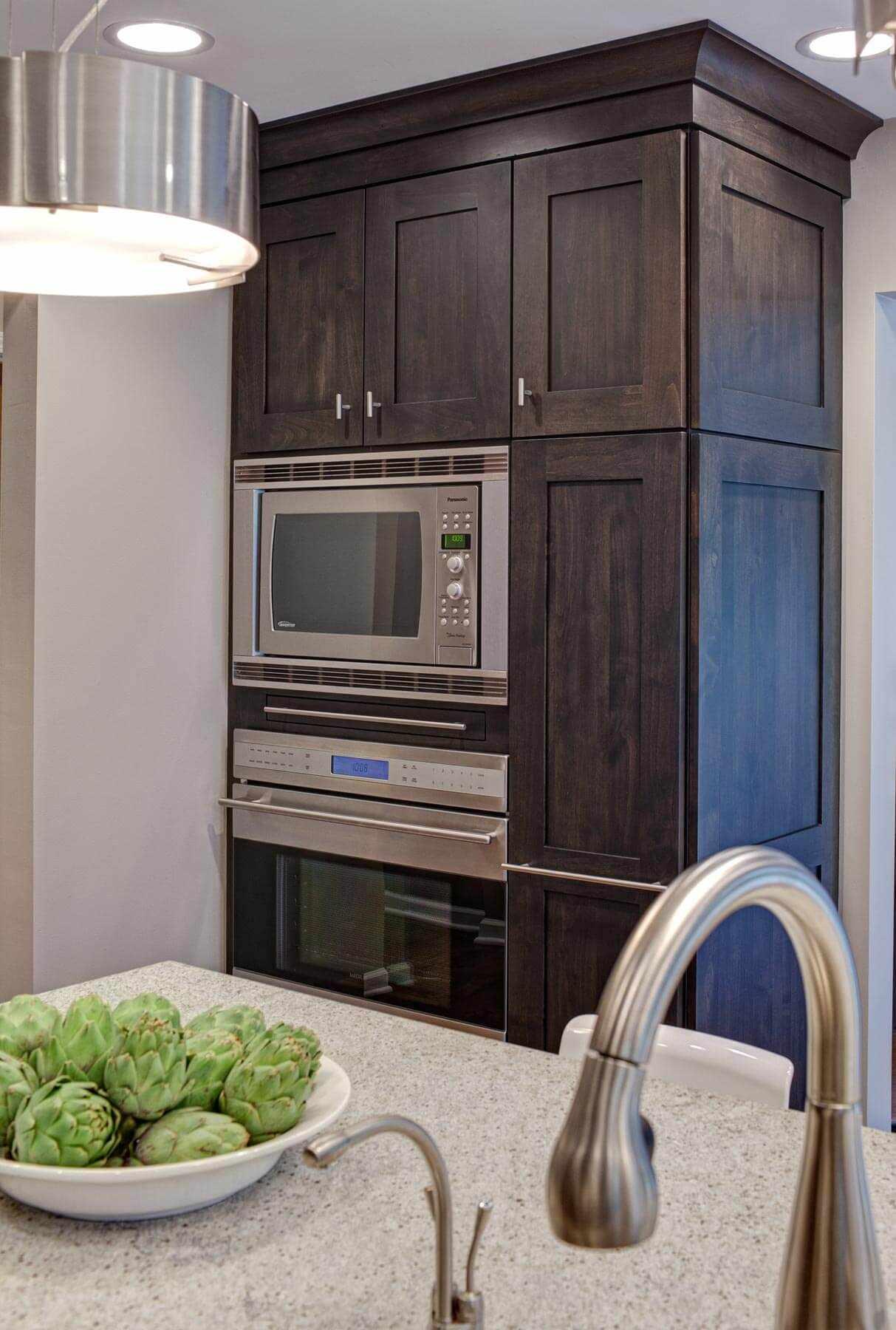 Шкаф-пенал под духовку