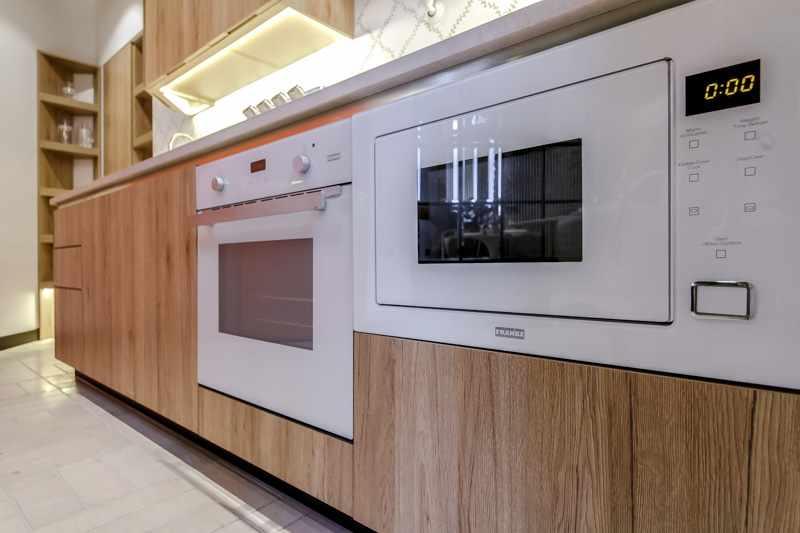 Шкаф под духовку из древесно-стружечных плит