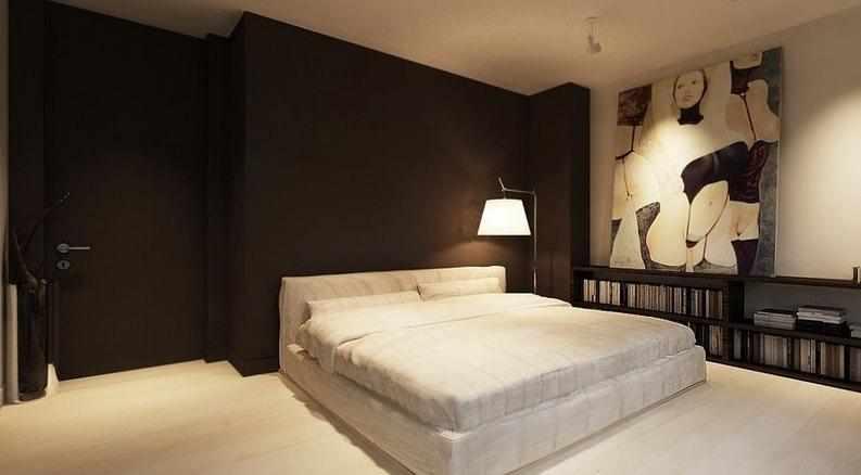Спальня в шоколадном цвете
