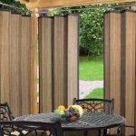 Бамбуковые уличные шторы