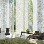 Японские шторы с абстрактным рисунком