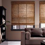 Шторы бамбуковые на два окна