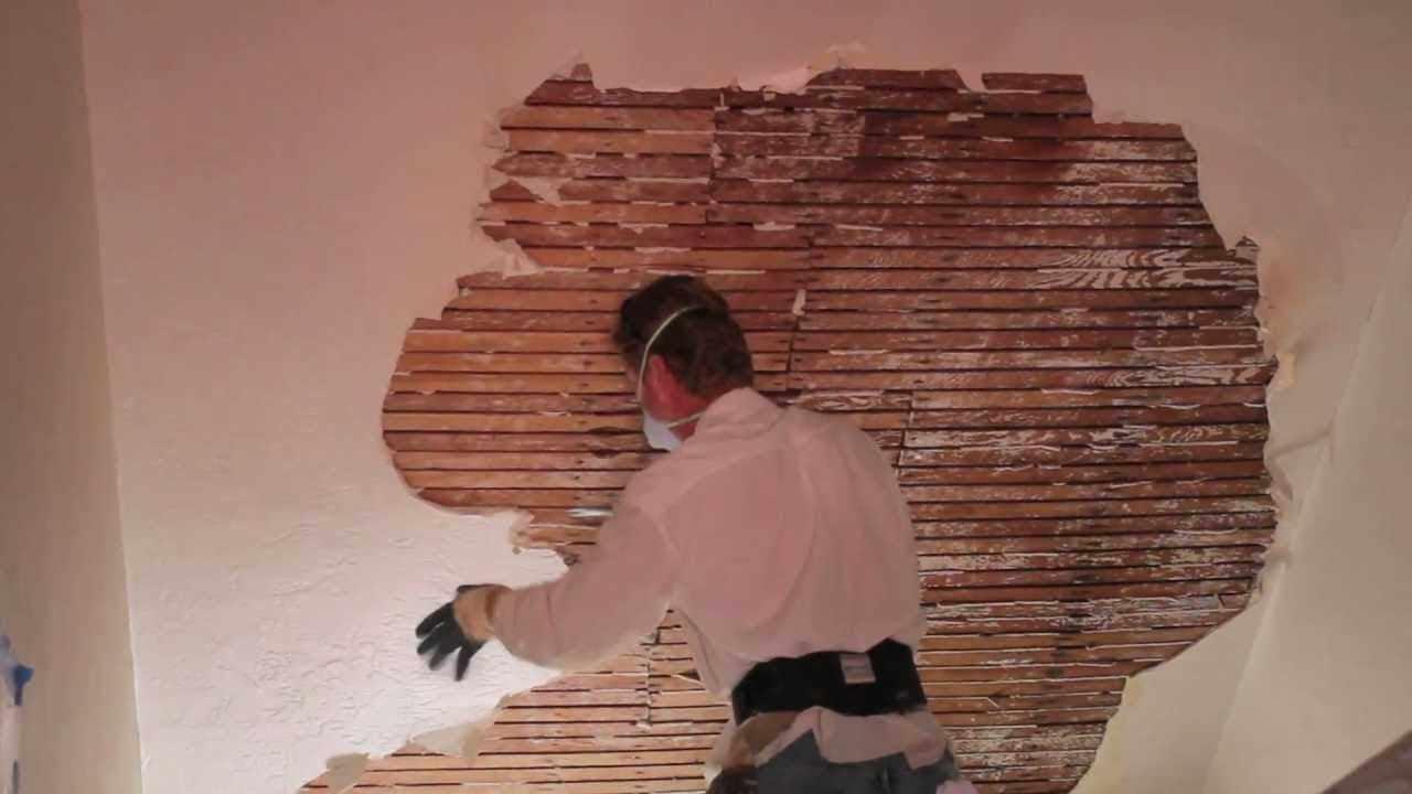 Штукатурка деревянной стены