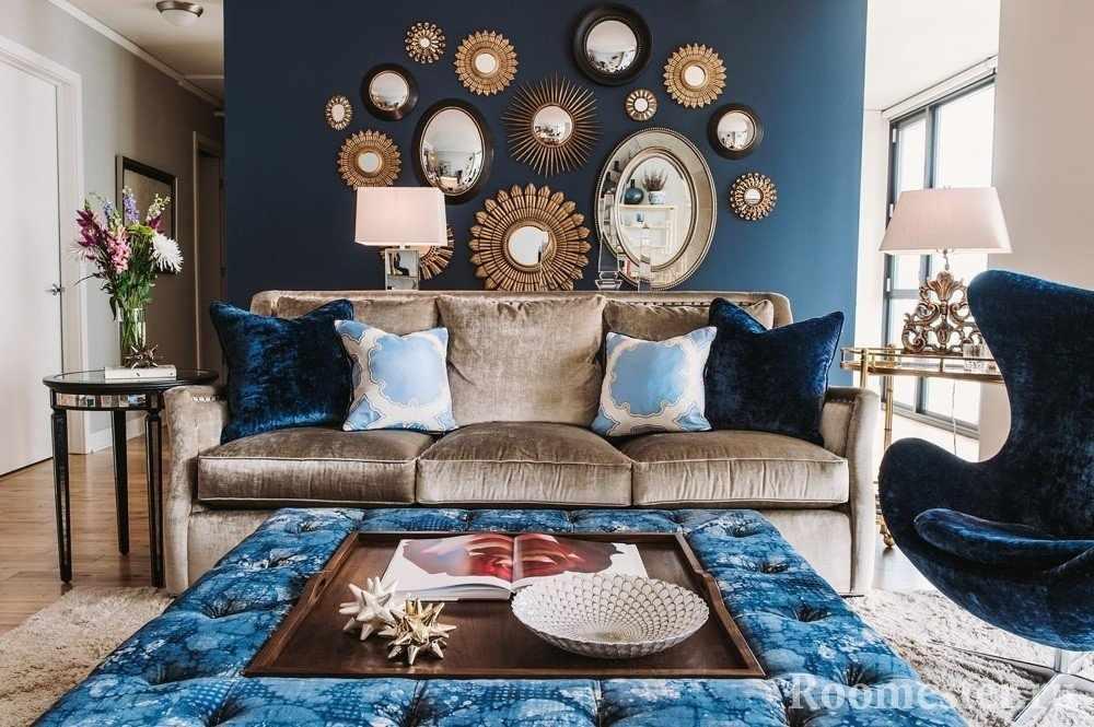 Золотой и синий цвет