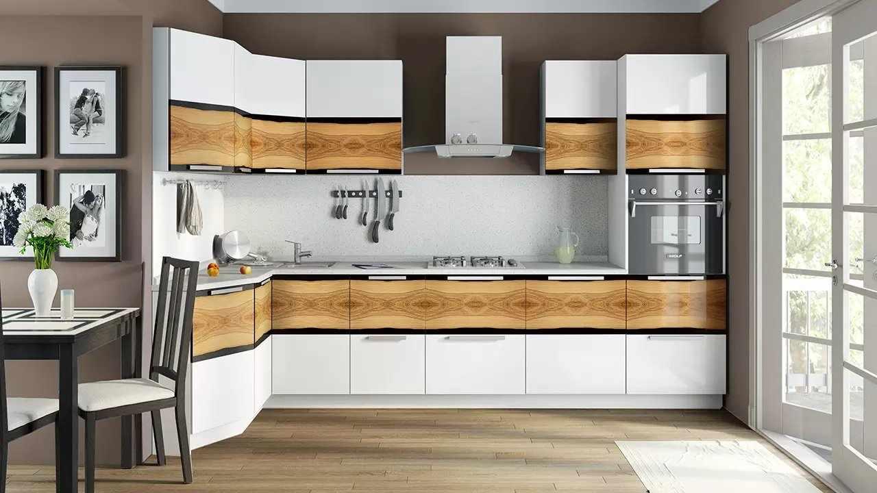 Закрытые системы хранения на кухне